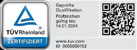 Externer Datenschutzbeauftragter Berlin - Zertifikat Datenschutzauditor TÜV